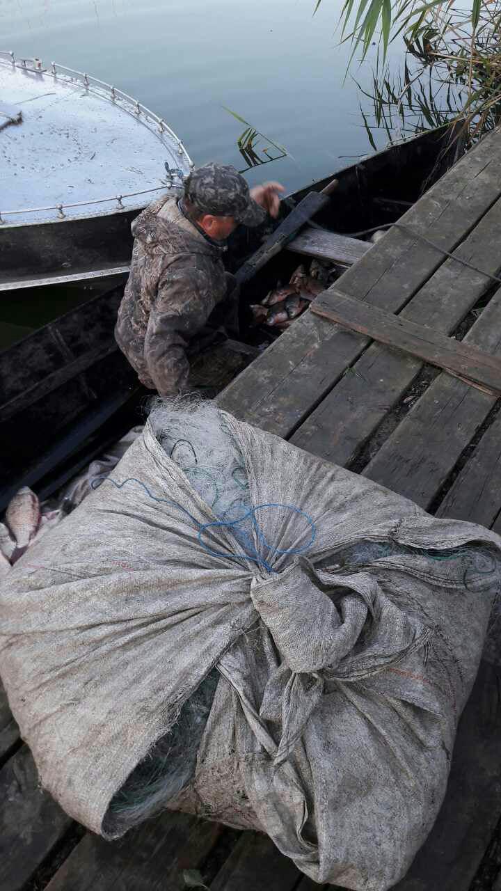 Сотрудники рыбоохраны на Катлабухе и Кагуле задержали браконьеров с крупным уловом