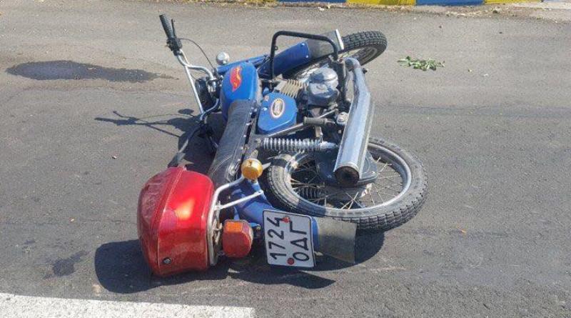 Из-за ДТП на дороге «Спасское-Вилково» погиб пожилой мотоциклист