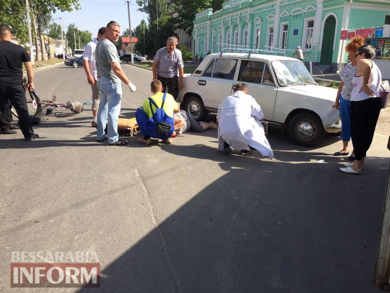 59574dbb80ca3_2346324623 Утренние ДТП: в Измаиле столкнулись два ВАЗа, а в Килии сбили велосипедистку