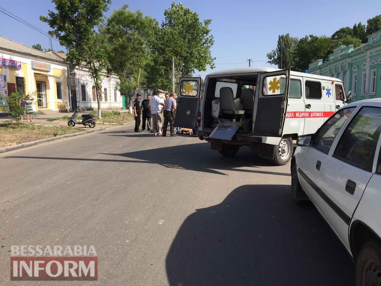 59574dbb80cb3_32462346 Утренние ДТП: в Измаиле столкнулись два ВАЗа, а в Килии сбили велосипедистку