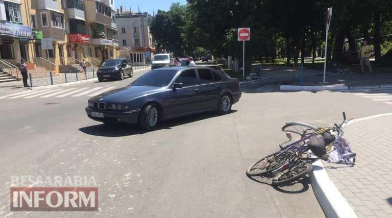 595e1fcf66d61_23462346 В Измаиле на проспекте Суворова водитель BMW сбил велосипедиста