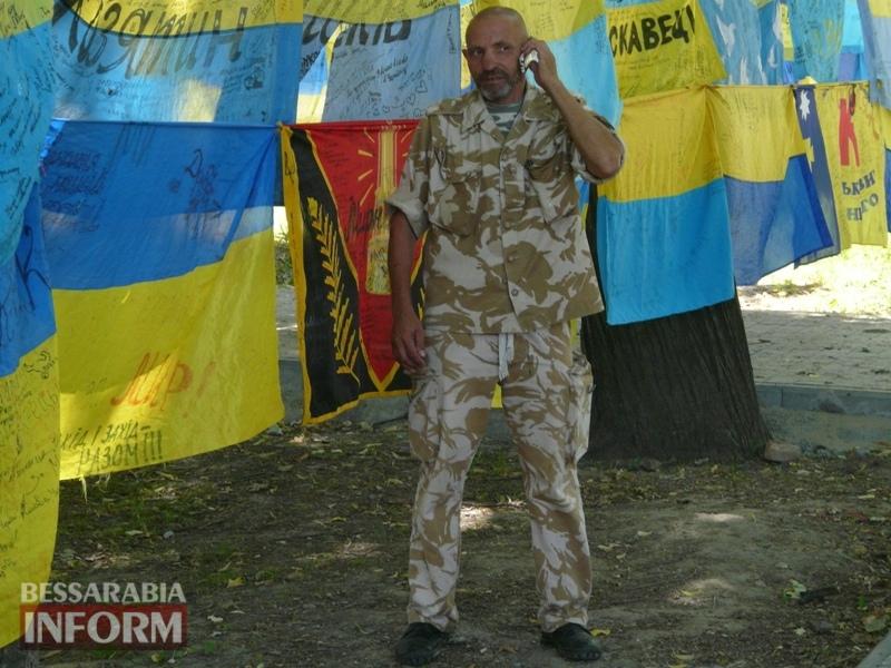 5964bdf33310a_P1080390 Полон сквер патриотизма: всеукраинская акция «Велика українська хода» достигла Измаила