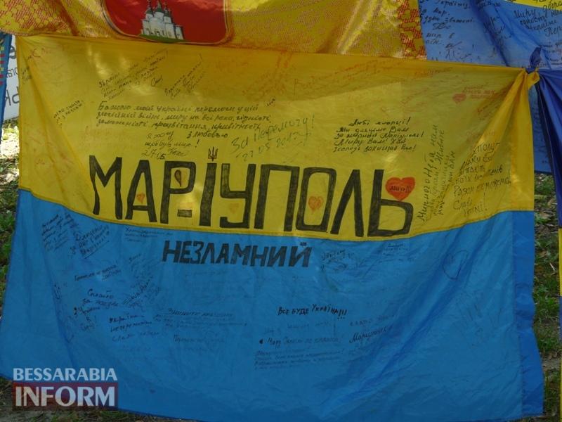 5964be00c1cff_P1080399 Полон сквер патриотизма: всеукраинская акция «Велика українська хода» достигла Измаила