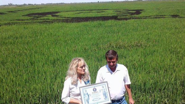 96963916_20133360_842059529292874_888445640_o Украинские селекционеры из рисовых посевов создали гигантский портрет Кобзаря