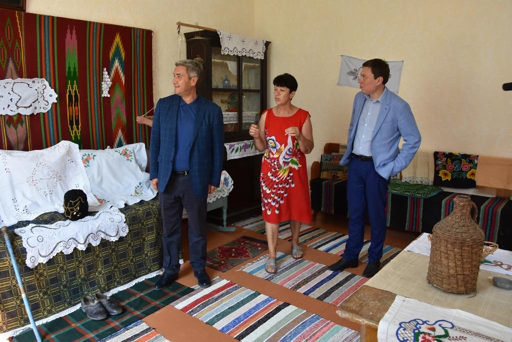 В селе Арцизского района открыли обновленный Дом культуры