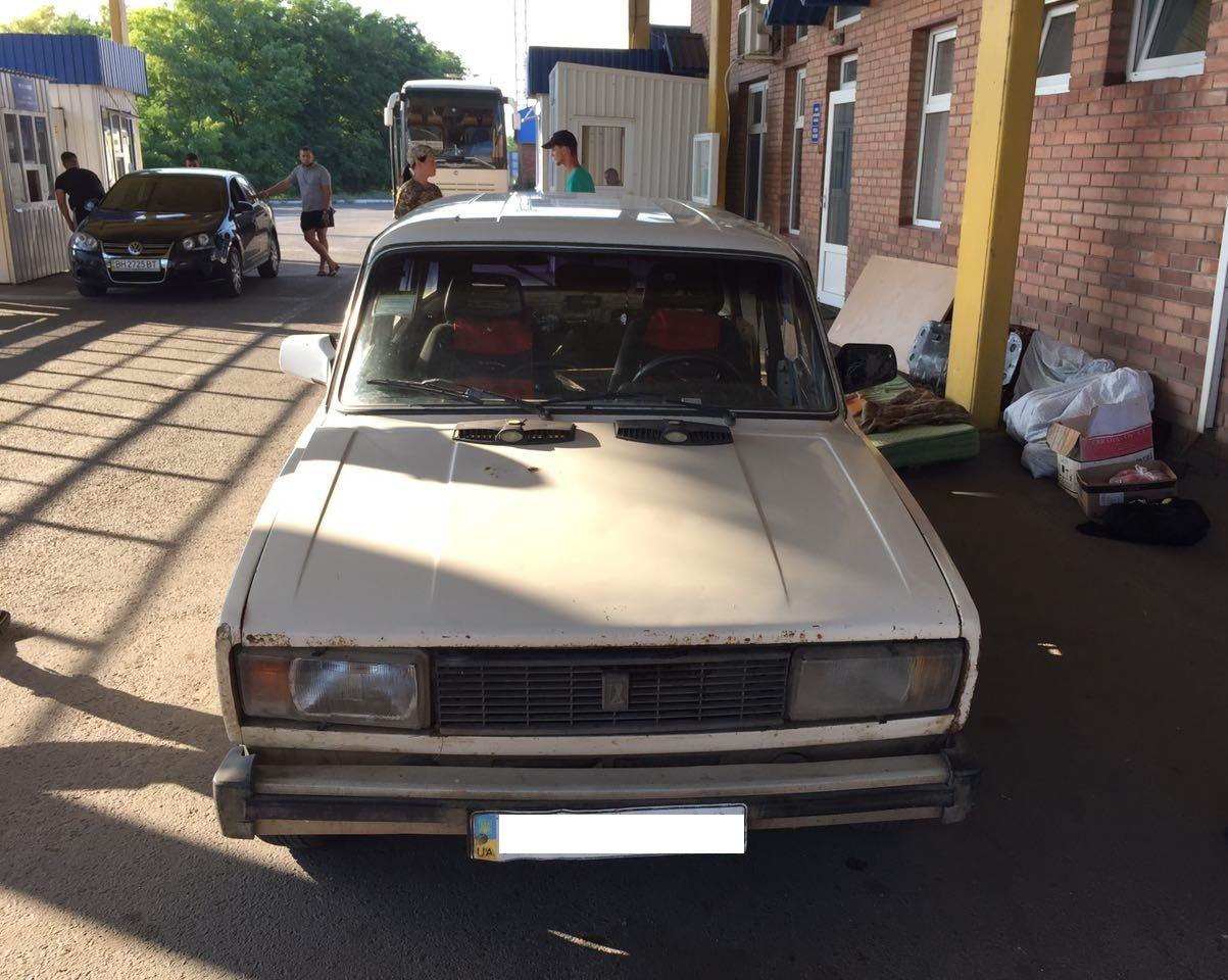 IMG-20170726-WA0009 Не перехитрил: из-за 89 пачек контрабандных сигарет гражданин Молдовы оставил автомобиль