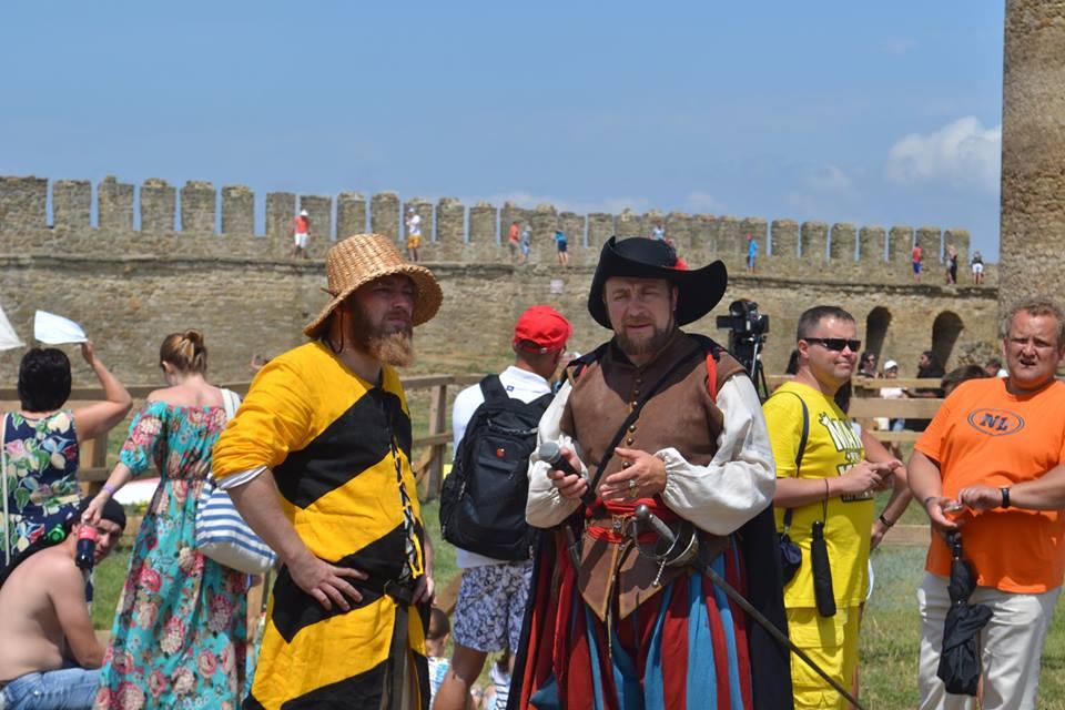 forpost-1 Времена отважных рыцарей и прекрасных дам: в Аккермане прошел самый масштабный фестиваль средневековой культуры