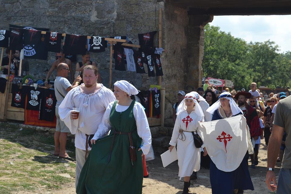 forpost-11 Времена отважных рыцарей и прекрасных дам: в Аккермане прошел самый масштабный фестиваль средневековой культуры