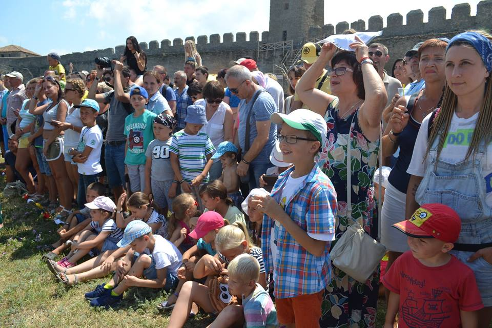 forpost-12 Времена отважных рыцарей и прекрасных дам: в Аккермане прошел самый масштабный фестиваль средневековой культуры