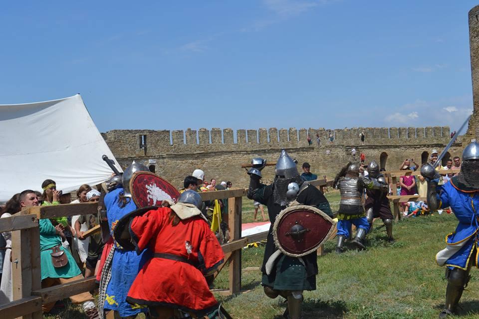 forpost-9 Времена отважных рыцарей и прекрасных дам: в Аккермане прошел самый масштабный фестиваль средневековой культуры