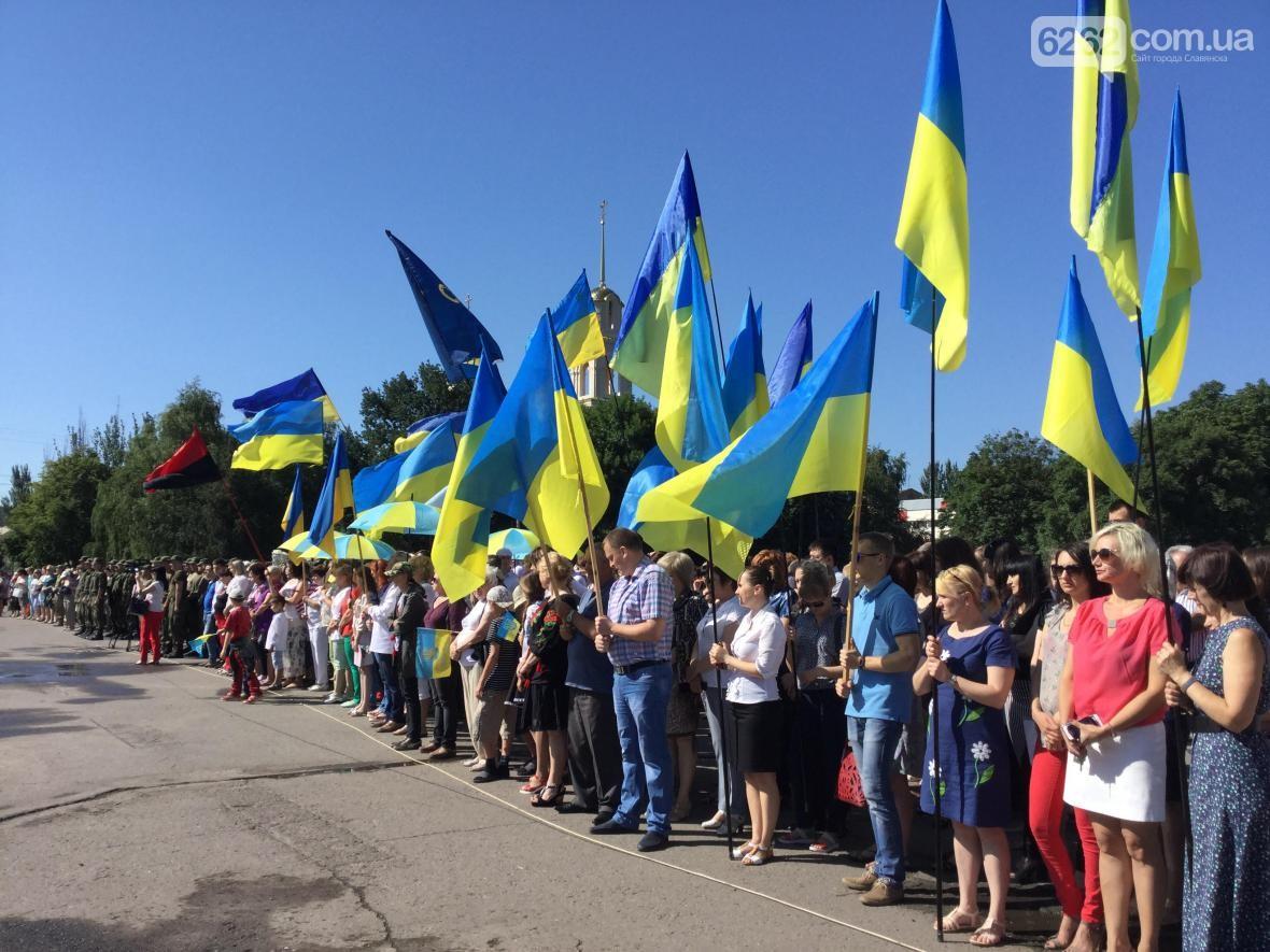 Сегодня - третья годовщина освобождения Славянска и Краматорска