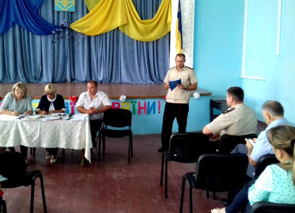 Спасатели Белгород-Днестровского инициируют вопрос создания в селах района местной пожарной охраны