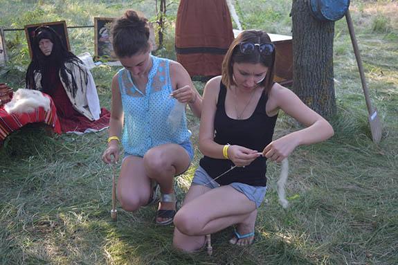 1-3-1 Болгарская молодежь провела мини-фестиваль в Болградском районе