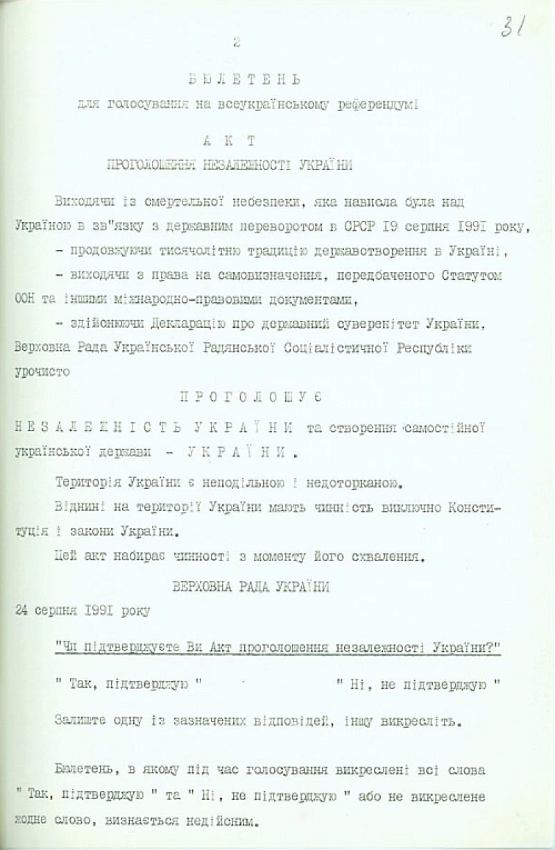 2683 Провозглашение независимости Украины: как это было
