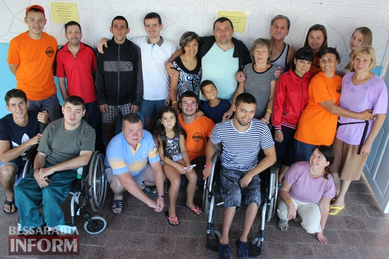 """""""Твори добро другим во благо"""": в Болградском районе для инвалидов организовали лагерь для отдыха"""