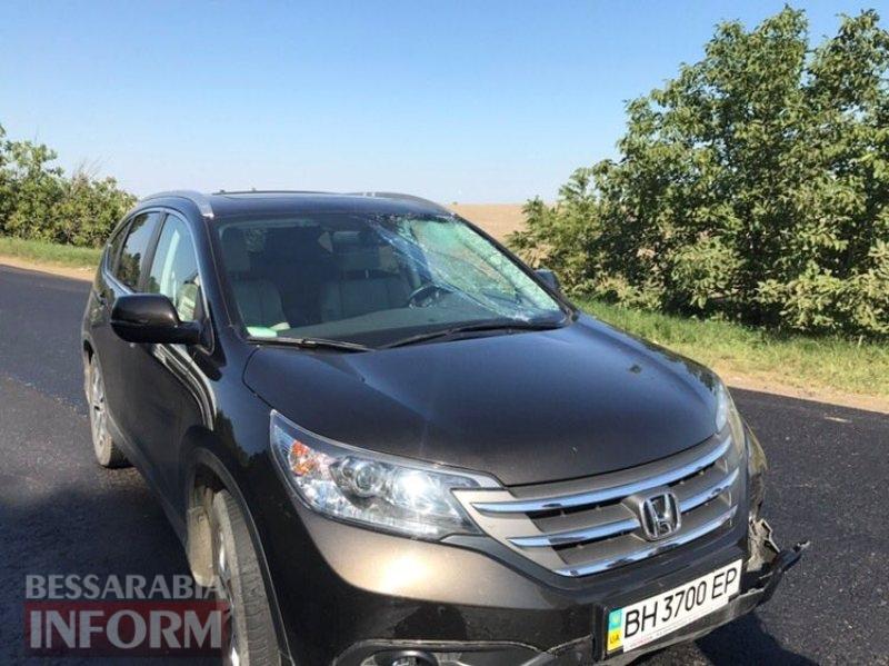 5981d8c2ad6fd_aiara На трассе Одесса-Рени под Измаилом автохам, кричавший, что он депутат, спровоцировал ДТП