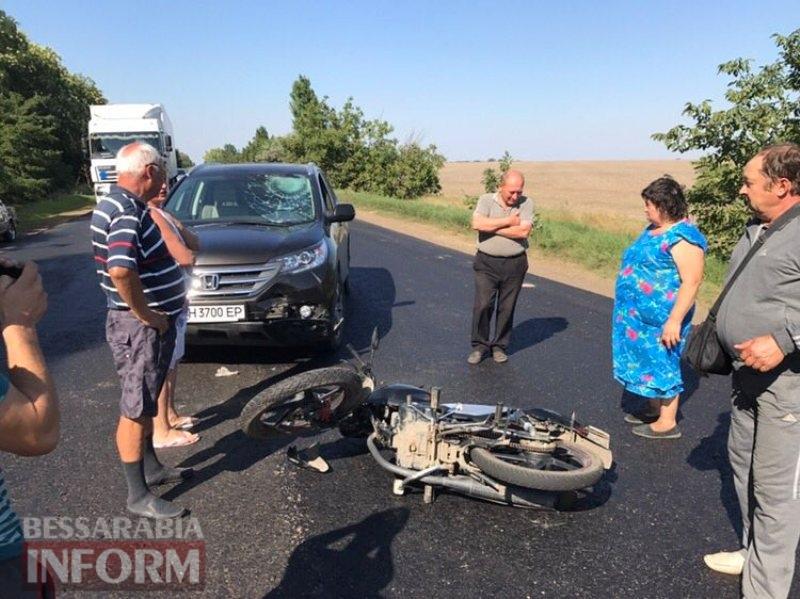 На трассе Одесса-Рени под Измаилом автохам, кричавший, что он депутат, спровоцировал ДТП