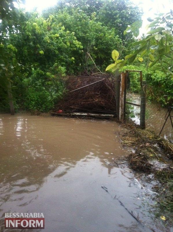 """""""Потоп"""" после каждого ливня: одно из сел Измаильщины нуждается в финансировании для улучшения гидрологической ситуации"""