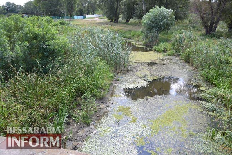 Специалисты осмотрели требующий срочной расчистки канал Общественный в Измаильском районе
