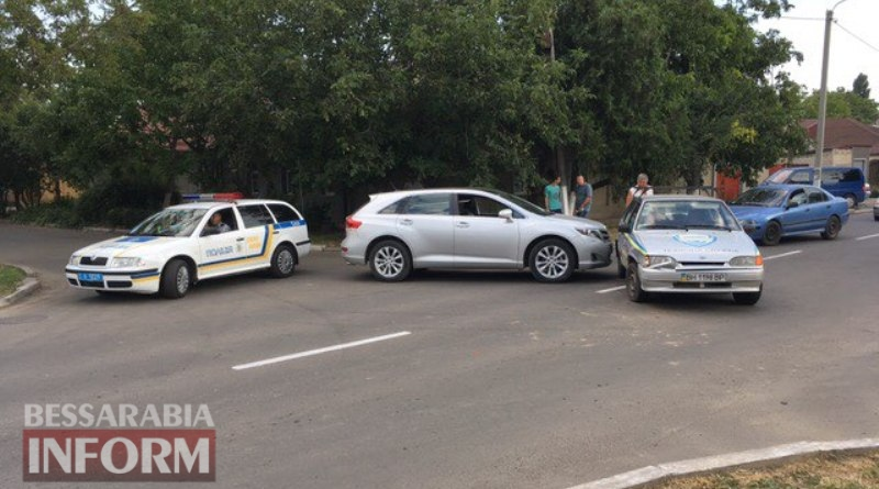 В Измаиле из-за ДТП оказался затруднен проезд по улице Белгород-Днестровской