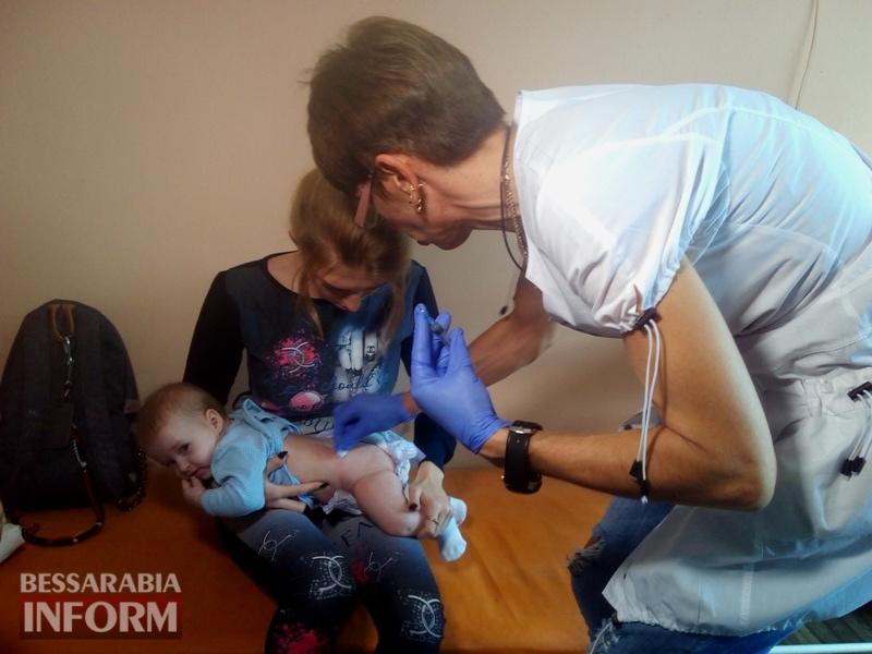 Измаил: без прививки от кори ребенка не возьмут ни в школу, ни в детский сад