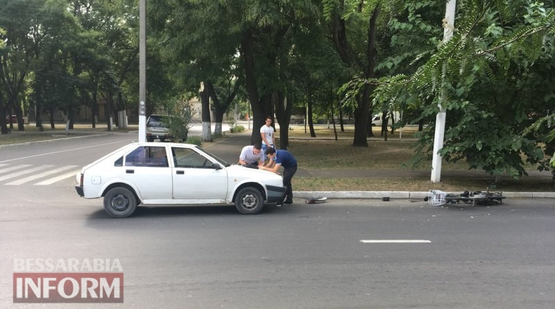 В Измаиле в ДТП пострадал пожилой велосипедист