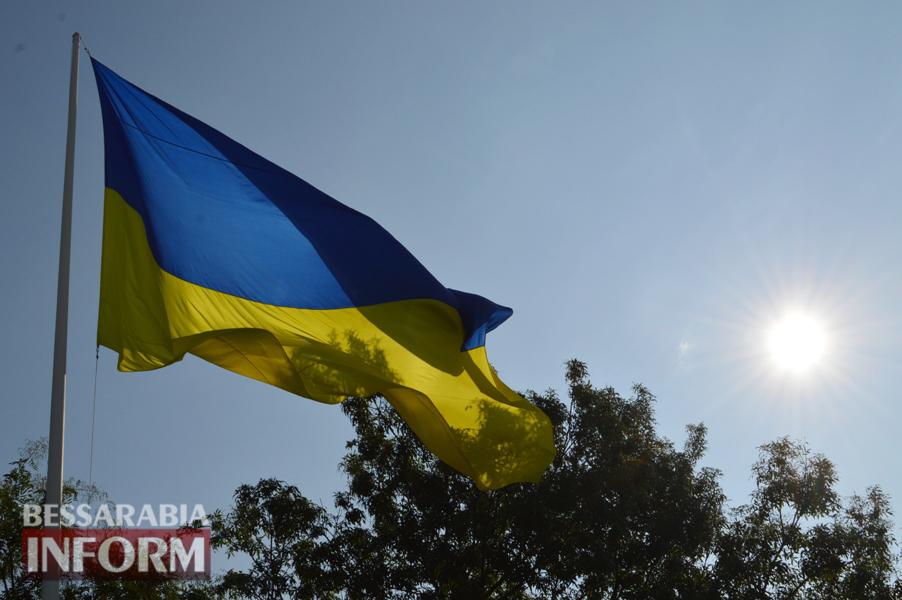 В Килии отметили День флага и открыли новый памятник