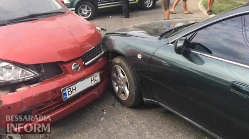 DTP-Izmail В Измаиле на улице Белгород-Днестровской произошло тройное ДТП