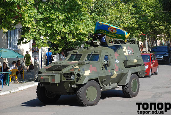 Den-VDV-445 Болградские воины-десантники торжественно отпраздновали день ВДВ