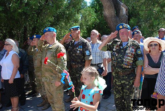Болградские воины-десантники торжественно отпраздновали день ВДВ