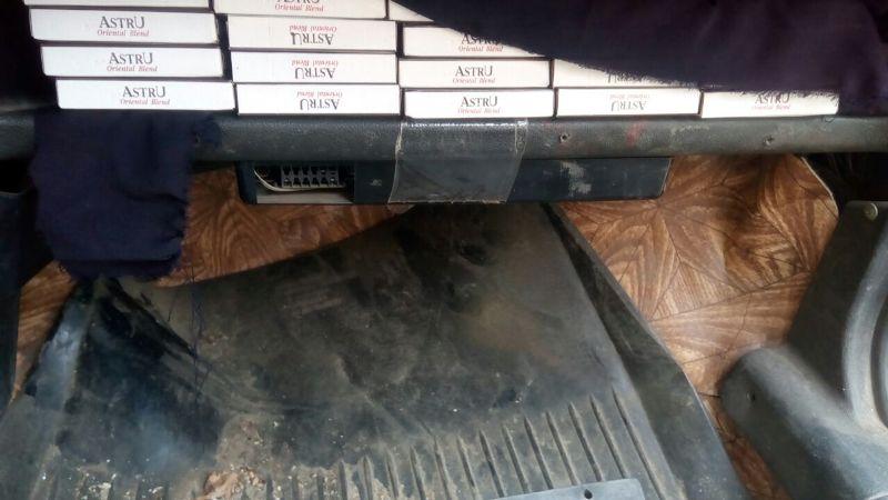 """image-0-02-05-765b7ad141ae61272bc026174836fa1bef7c3abf9e1f6b08b13bddd4e5e7bd8b-V В Тарутинском районе пограничники обнаружили машину, """"нафаршированную"""" контрабандными сигаретами"""