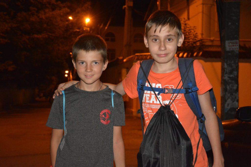 В Одессу из зоны АТО прибыли дети, на оздоровление которых часть своих зарплат перечислили сотрудники ОГА