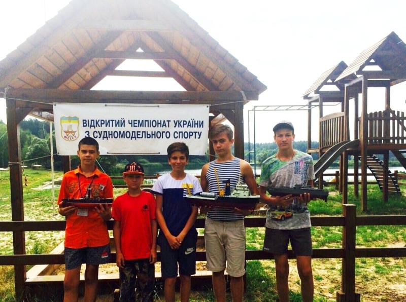 Ребята из Аккермана заняли призовые места на Чемпионате Украины по судомодельному спорту