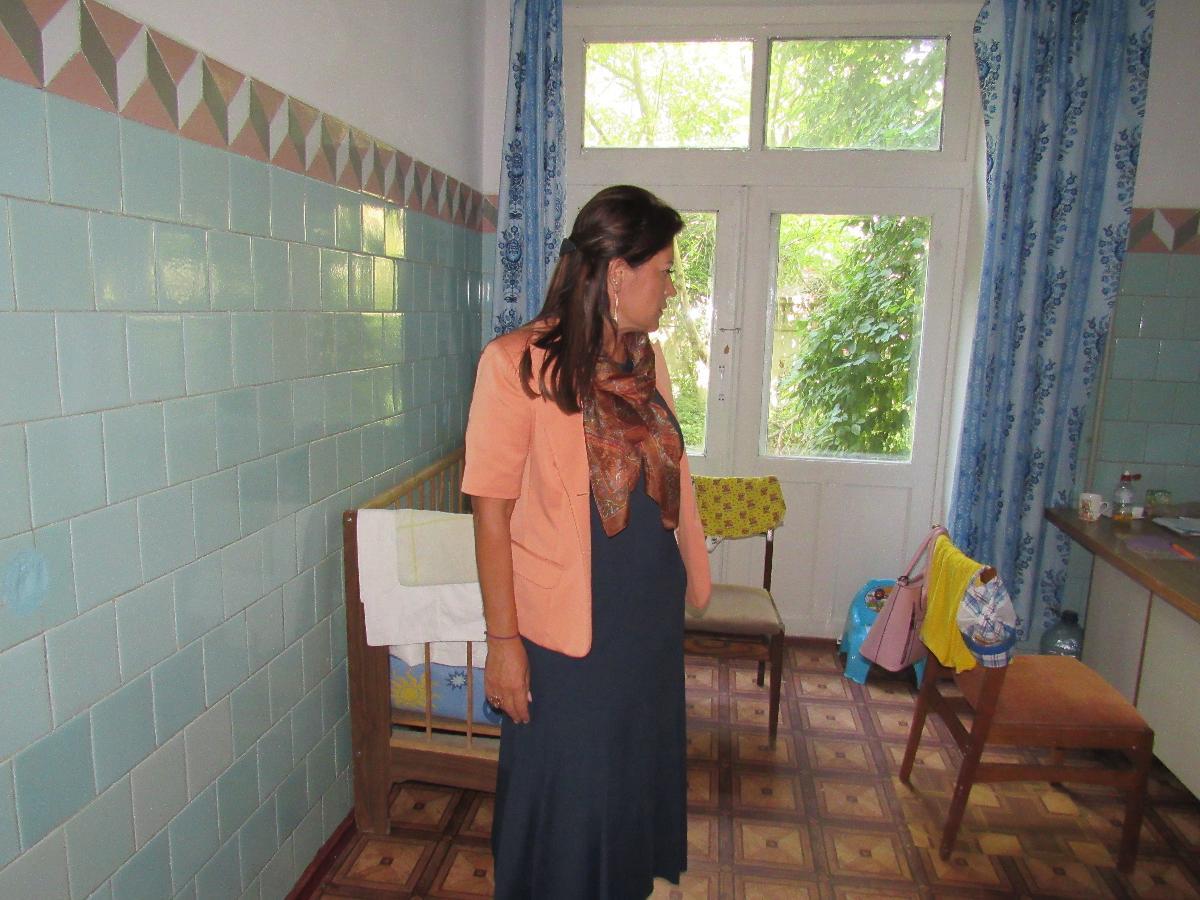 Мэр Белгород-Днестровского Алла Гинак провела выездное заседание в больнице