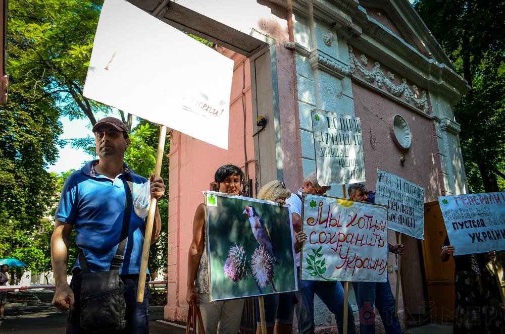 Состоялось первое слушание по делу лишения Тарутинской степи статуса заказника