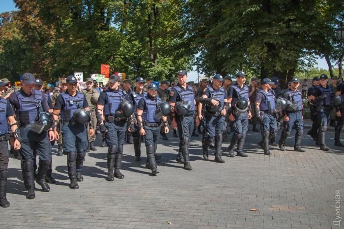picturepicture_20184866194912_89135 Марш Равенства представителей ЛГБТ-сообщества «Одесса-Прайд» до финиша не дошел