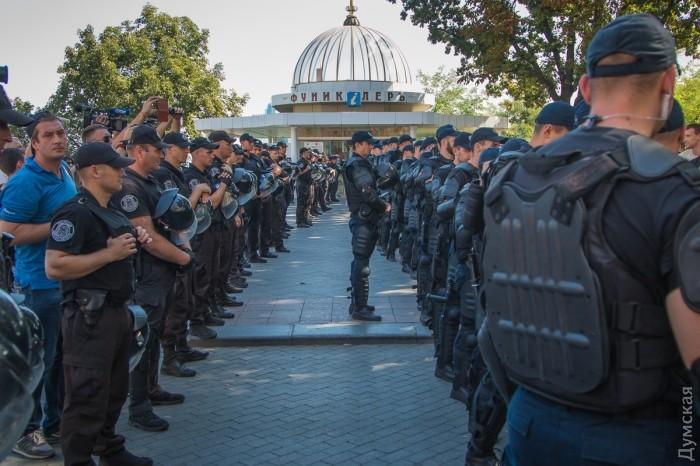 picturepicture_39171125194917_83048 Марш Равенства представителей ЛГБТ-сообщества «Одесса-Прайд» до финиша не дошел