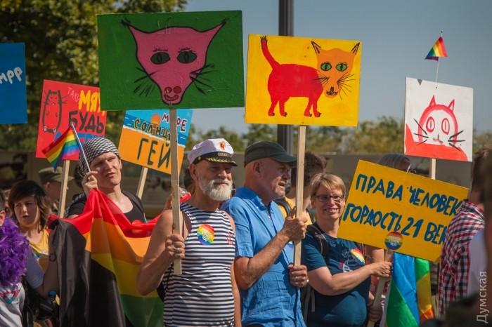picturepicture_91757768194927_38955 Марш Равенства представителей ЛГБТ-сообщества «Одесса-Прайд» до финиша не дошел