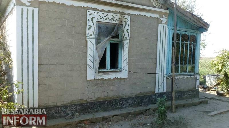 pozhar2 Курение в постели стоило жизни жителю села Десантное Килийского района и его сожительнице