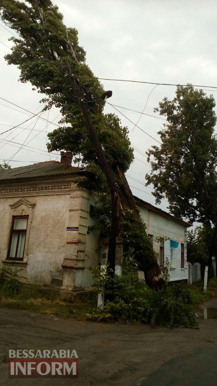 Непогода в Килии нанесла ущерб на полмиллиона гривен