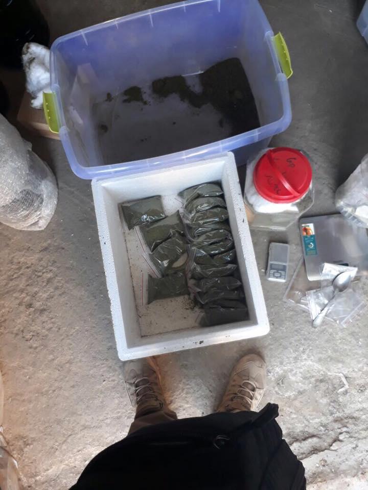 В Саратском районе наркодилер местного разлива собрал около 40 кг элитной марихуаны