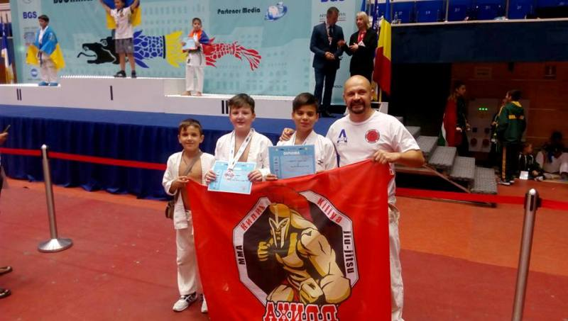 Килия встречает чемпиона мира: 11-летний боец везет домой золотую медаль по Годзюрю каратэ