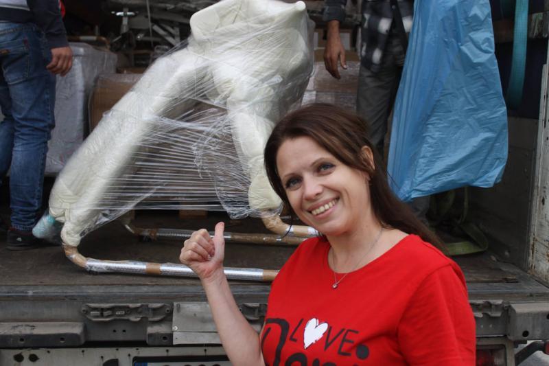 Уроженка Рени, проживающая в Германии, организовала на малую родину две фуры гуманитарного груза