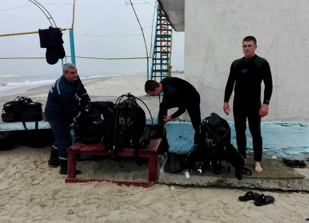 234723473 Спасатели приступили к разминированию судна затонувшего у берегов Татарбунарского района в 1943 году