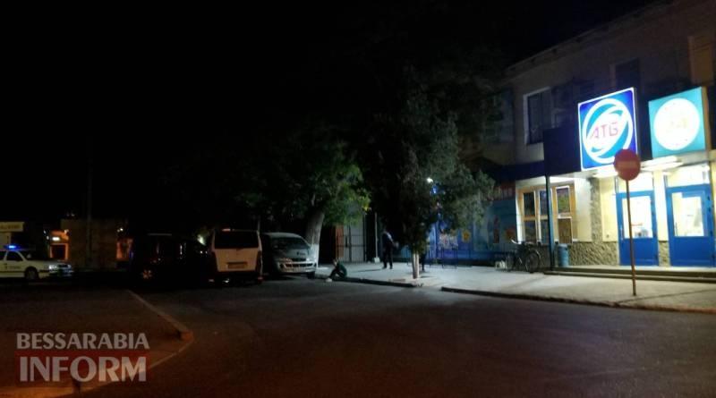 """59cf428ea7f7f_3646 Ночью в Измаиле проезд под """"кирпич"""" стал причиной ДТП"""