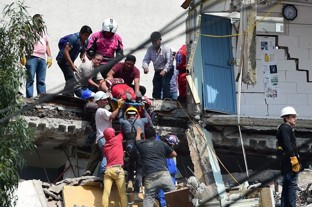 День в день: спустя 32 года в Мексике вновь произошло разрушительное землетрясение