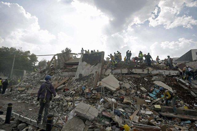 789556_main День в день: спустя 32 года в Мексике вновь произошло разрушительное землетрясение