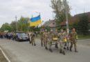 Сарата в трауре: сегодня в поселке прощались с погибшим в зоне АТО воином Максимом Кривиденко