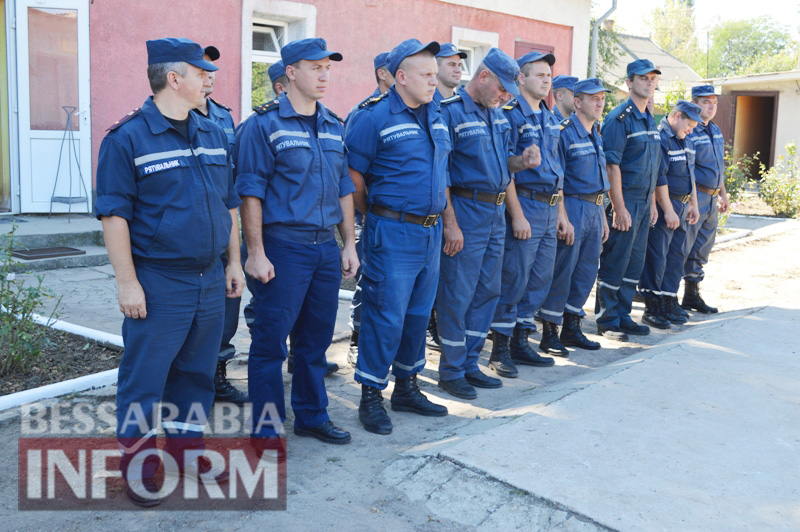 DSC_0875 Без подарков не обошлось: килийские спасатели принимали поздравления с профессиональным праздником