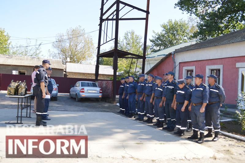 DSC_0877 Без подарков не обошлось: килийские спасатели принимали поздравления с профессиональным праздником